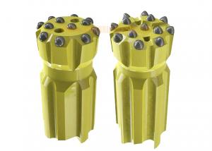 China T45 Retractable Drill Bit with Parabolic / Spherical Buttons for Mining Tunneling Drilling on sale