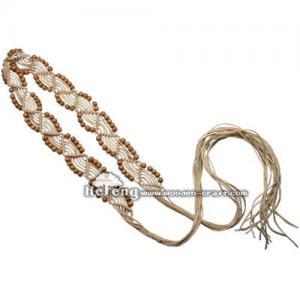 China Women's belt,beads belt,webbing belt,fashion belt, wood belt,new belts on sale