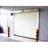 Anti-electrostatic Fabric Roll up Door , High Frequency Smooth Opening Speed 1.5m/s