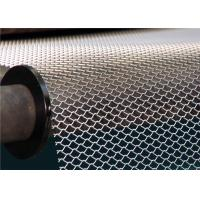 China Flattened Expanded Metal Wire Mesh / Expanded Mesh Screen Wear Resistance on sale