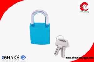 China Elecpopular Factory Direct New Product Blue Colour Aluminium Padlock on sale