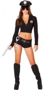 China Wholesale Cop Robber Costumes Officer Sexy Costume for Halloween Christmas on sale