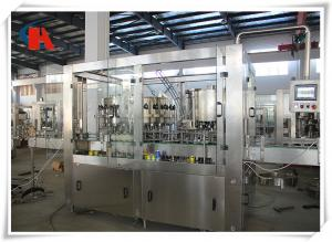 China PET Bottle Carbonated Beverage Filling Machine Rinsing Filling Capping 3 In 1 Monoblock on sale