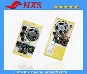 China 1~360s Recording Small Custom Sound Module For Greeting Card on sale