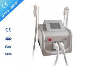 China new desinged UK lamp IPL SHR hair removal machine 8*40mm spot size laser on sale