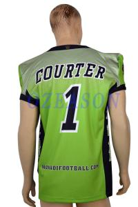 7821fbcff ... Quality American Style Sublimated Youth Football Uniforms Tackle Twill  OEM Avaliable for sale
