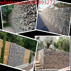 China supply galvanized welded gabion box/stone cages/ gabion retaining wall/gabion retaining wall cost on sale