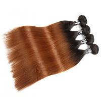 China Comfortable 1B/30# Ombre Human Hair Extensions For Women CE BV SGS Approval on sale