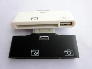 China 2 in 1 USB +CF SD Card Reader For Ipad Apple Ipad Camera Connection Kit ck-7 on sale