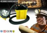 Lampe de chapeau anti-déflagrante des mineurs IP68, CREE phare de 25000 mineurs de lux