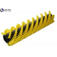China Customized Industrial Roller Brushes Spiral Cylinder Rotary Conveyor Belt Cleaning on sale