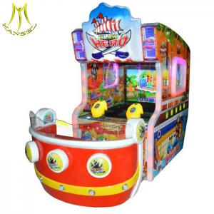 China Hansel children game center equipment coin operated water shooting game machines for kids on sale