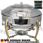Unique Catering Chafing Dish , Food Warmer Dishes Food Grade SS Material Reliable