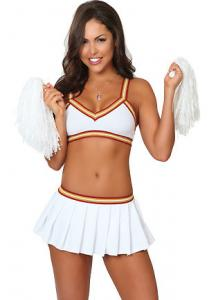 China Wholesale Cheerleader Costumes Sexy College Cheerleader Outfit for Halloween Christmas on sale