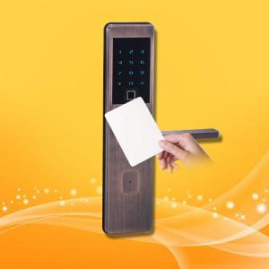 China Bluetooth Fingerprint Card Reader Access Door Lock Control System Security Entry on sale