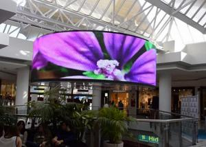 China Ultra thin Soft Flexible LED Screen , Flexible Led Display Screen on sale