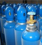 En 1964 - 1 Std Seamless Steel Gas Cylinders Industrial Oxygen Gas Cylinder GB5099 / ISO9809 40L 150bar / 250bar