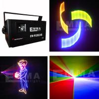 China 2000mW RGB Full Color ILDA DMX512 Club DJ Party Amimation 3d Laser stage lighting on sale