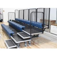 Polymer Seat Retractable Gym Seating , Sport Centers Retractable Indoor Bleachers