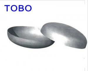 China ASME B16.9 SS Pipe Fittings 310s Stainless Steel SMLS Cap , Butt Weld Pipe Cap on sale