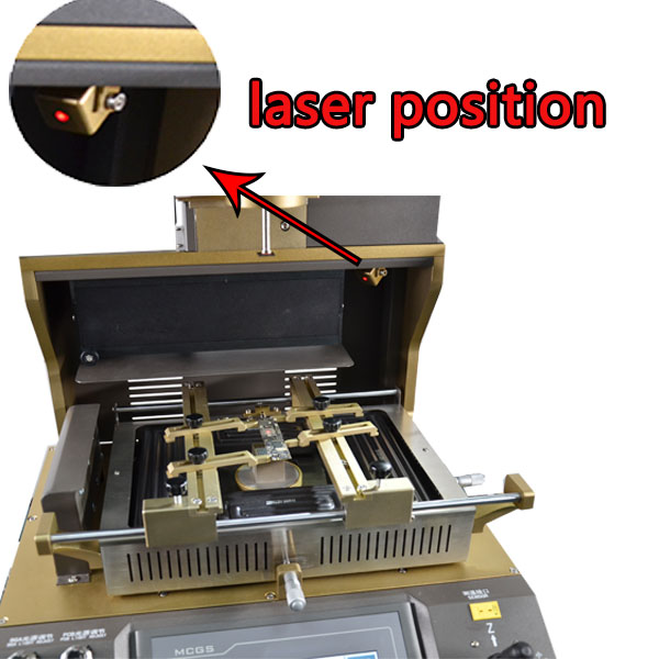 Factory price WDS-720 automatic motherboard repair bga soldering