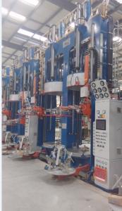 China Rubber Tyre Vulcanizing Machine With PLC 21Mpa Hydraulic Pressure on sale
