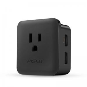 China PISEN NEW 2017 Mobile Phone Portable 5V 1.5A 2.4A US Dual USB Wall Charger on sale