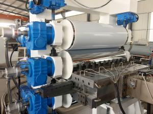 China plastic sheet extrusion line PP PS sheet  extruder extrusion line on sale