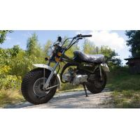 50cc High Powered Motorcycles With Super Wide Front And Rear Tires