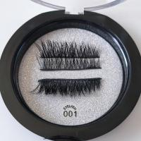 Reusable Magnetic Fake Lashes Magnetic False Eyelashes No Glue Required 4 Pieces