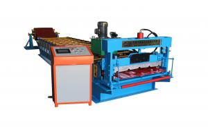China High Frequency IBR Sheet Roll Forming Machine , Steel Metal Roof Tile Making Machine on sale