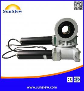 China SDD3 dual axis slewing drive for solar tracking system on sale