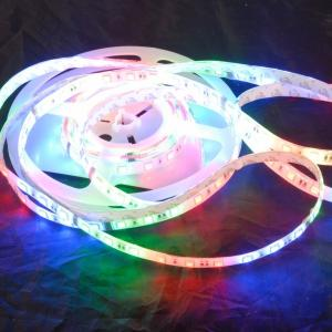 China Double Line CCT Cool White SMD 3528 LED Strip Light 585 - 595K with 120 degree beam angle  on sale