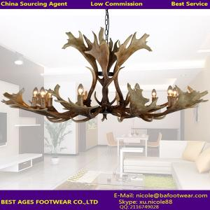 China Antler Chandelier Antique Decorative Pendant Deer Chandelier Hotel Lobby Chandelier Lighting from China Agent on sale