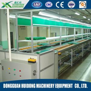 China Adjsutable Motorised Roller Conveyor For Conveyor Tooling Board Assembly Line on sale