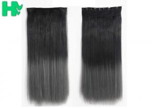 China Ombre Synthetic Hair Extensions , Synthetic One Piece Hair Extensions on sale