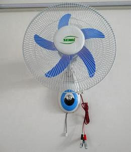 China Energy Saving Rechargeable Wall Mounted Fan on sale