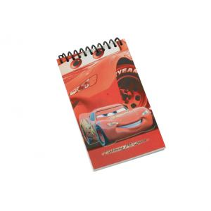 China Customized Disney character water proof paper cover Spiral Bound Notebook on sale