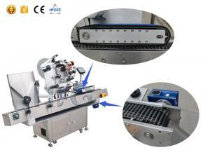 China TCG のコンベヤー モーターを搭載する自動自己接着ガラスびんのステッカーの分類機械 on sale