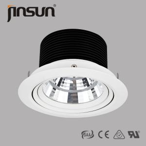 China 24o narrow beam angle 40w high power LED COB downlight with IP rating 40 on sale