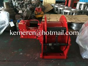 China 2 ton hydraulic winch for aerial lift platform on sale