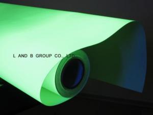 China Photoluminescent Vinyl Film on sale