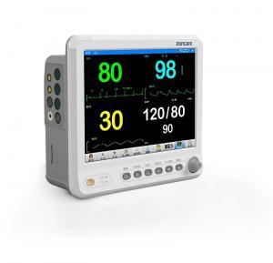 China 2200mAh Battery Vital Monitor Machine High Performance With ECG EtCO2 HR SPO2 on sale