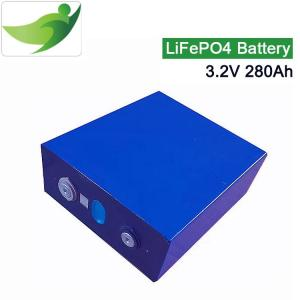 China 3.2V 280A  Lifepo4 lithium battery 3C discharge for 12v RV EV mortorcycl Solar System Lithium battery pack diy on sale