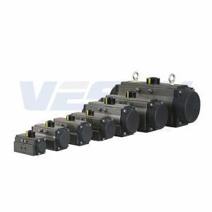China Aluminum Alloy Part Turn Actuator / Single Acting Air Piston Actuator VS-092DA-180° on sale