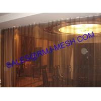 Coil Wire Mesh Curtains , Metal mesh drape , Metal mesh blinds