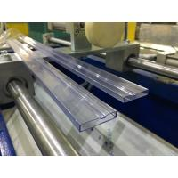 China PVC IC Packing Tube / Profile Extrusion Machine , IC Tubing Extrusion Line on sale