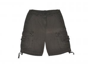China Customized Color Washed Cargo Work Shorts / Mens Workwear Shorts300 Gsm on sale