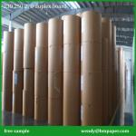 1mm,1.5mm,2mm,3mm mixed pulp laminated grey board/grey cardboard/grey board roll/sheet