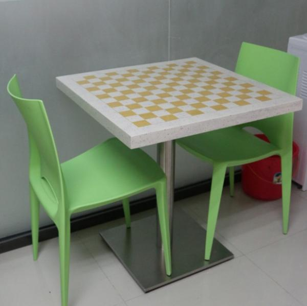 Solid Surface Table Composite Acrylic Tables Marble Table Tops With  Customised Size Images